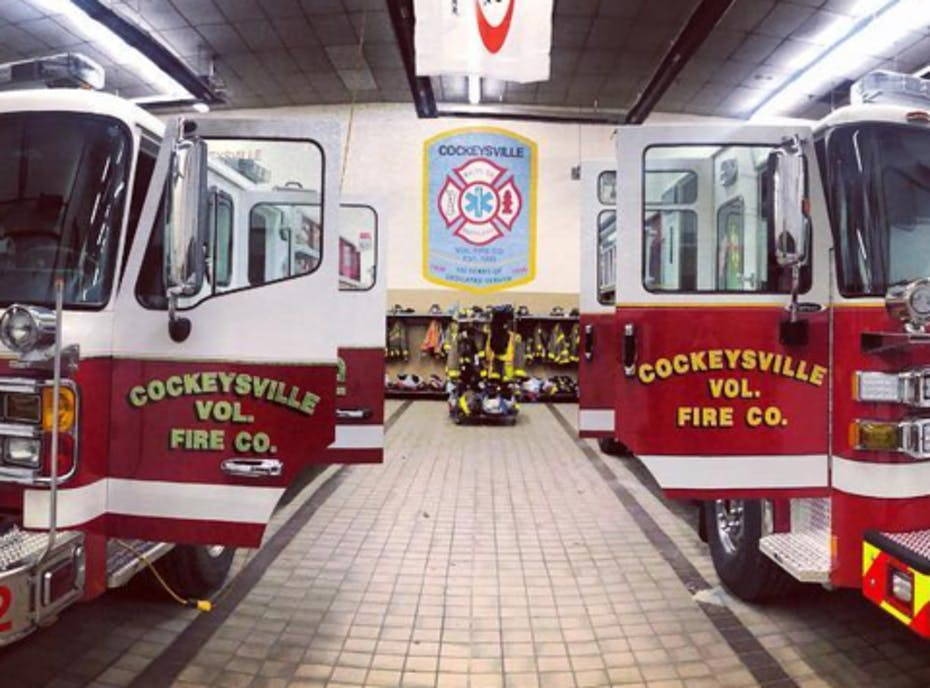 Cockeysville Volunteer Fire Company Holiday Wreaths