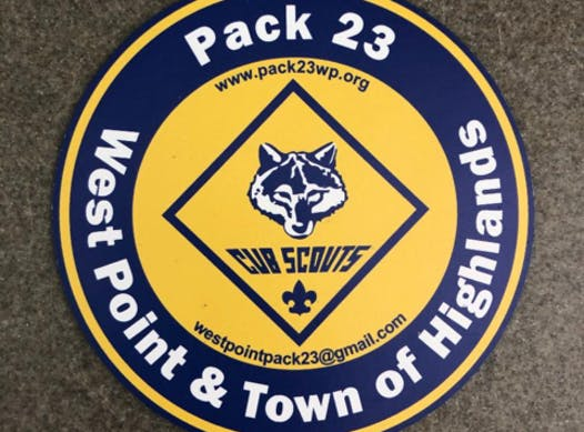 scouts fundraising - Pack 23