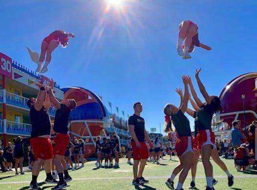 cheerleading fundraising - Ball State University Cheerleading