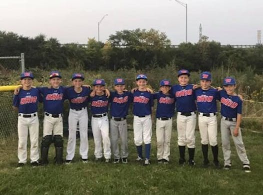 baseball fundraising - Team Ohio