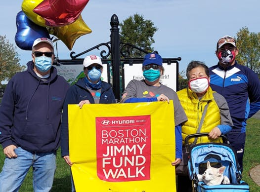 charity event - run, walk, or bike fundraising - Miles and Smiles Jimmy Fund Walk Team Wreath Sale!