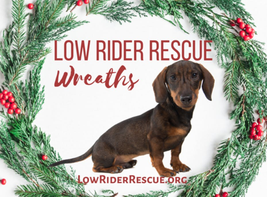 Low Rider Rescue Wreaths