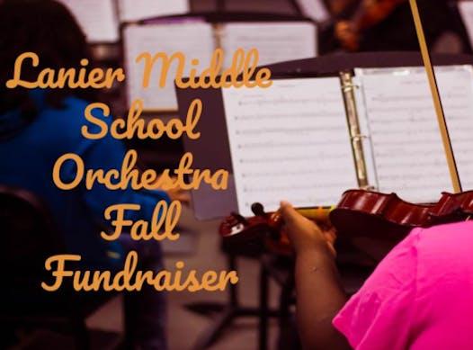 music fundraising - Lanier MS Orchestra Fundraiser
