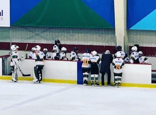 ice hockey fundraising - MVI Peewee B1