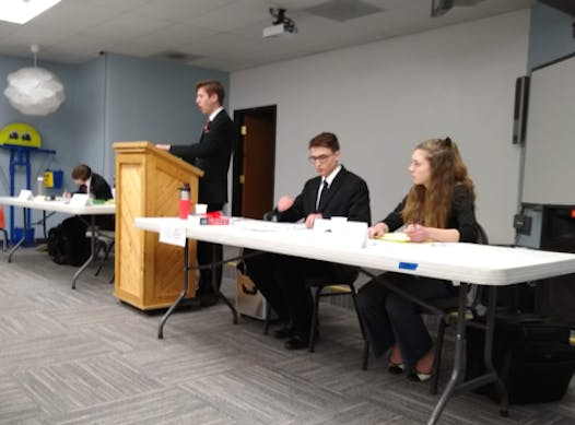 student clubs fundraising - Logos Speech and Debate