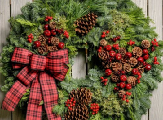 scouts fundraising - Black Forest Pack 70 Christmas Wreaths 2020