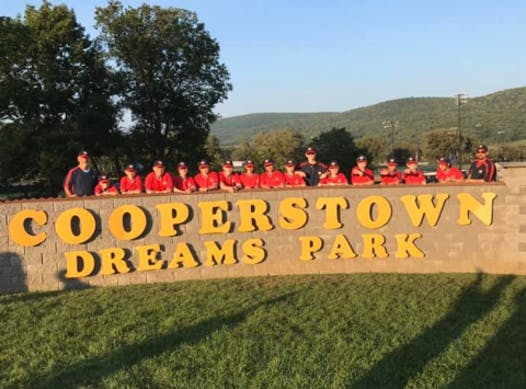 baseball fundraising - Cooperstown Dreams Park 2021
