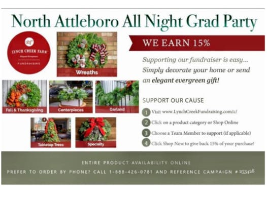 events & trips fundraising - North Attleboro All Night Grad Party,INC