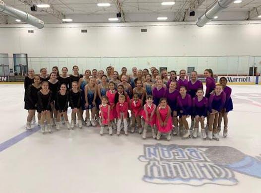 synchronized skating fundraising - Ice Denettes