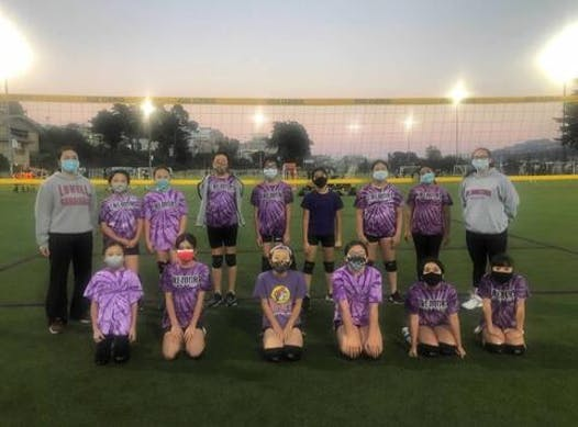 volleyball fundraising - 11-1 SF TREMORS VBC CHEETAHS