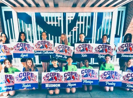 cheerleading fundraising - Cope Cheer