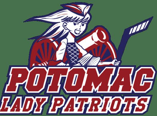 ice hockey fundraising - Potomac Lady Patriots (12U Red)