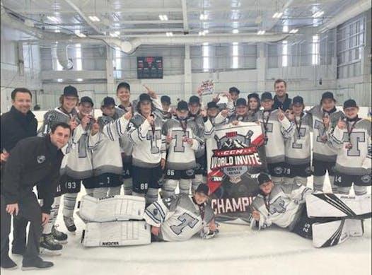ice hockey fundraising - Quebec Bound