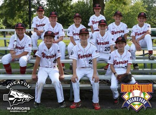baseball fundraising - 2022 12U Wheaton Warriors Red