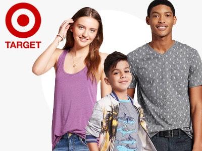 Dept target clothing