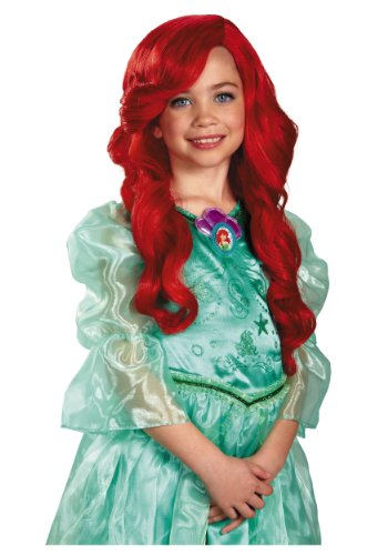 Costume Props Novelty & Special Use Fairytale Princess Mermaid Cosplay Wig Headdress Halloween Carnival Masquerade Dress Up Props Red Long Hair Large Assortment
