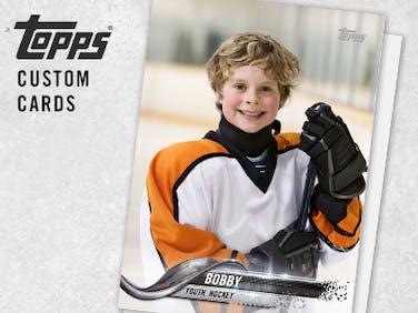 Topps hockey brand tile