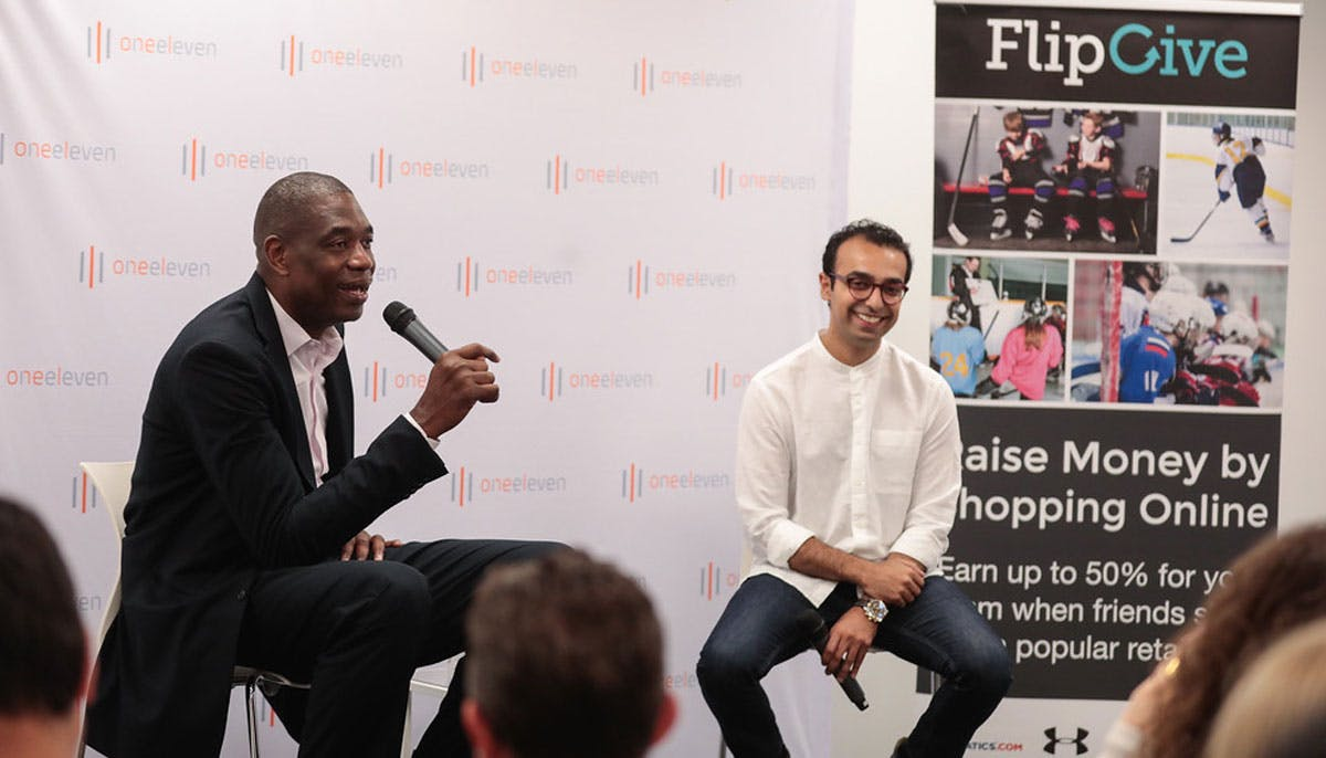 NBA Legend Dikembe Mutombo Invests In FlipGive