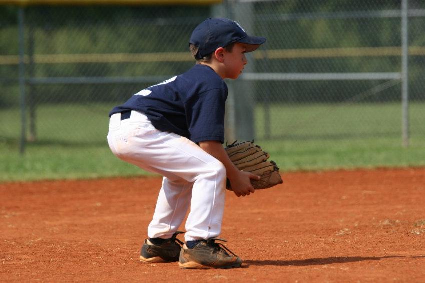 Kids baseball uniforms