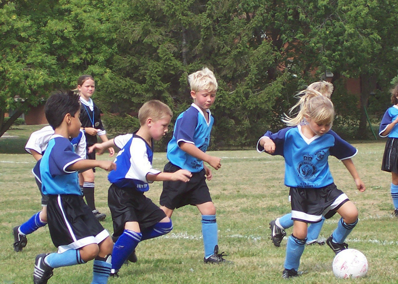 5 soccer games for kids