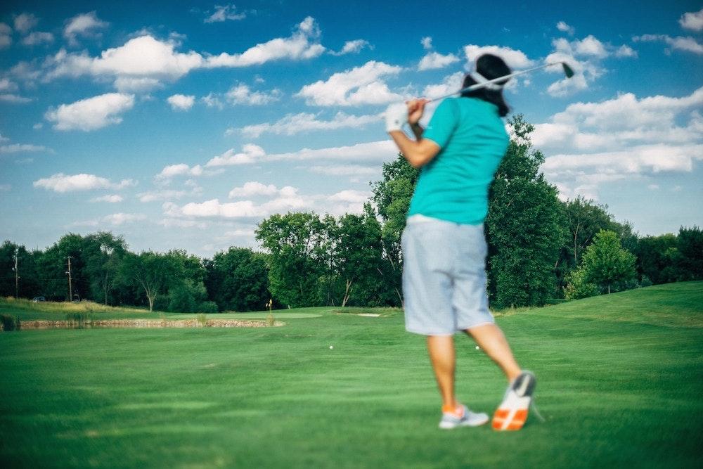 Golf tournament flipgive