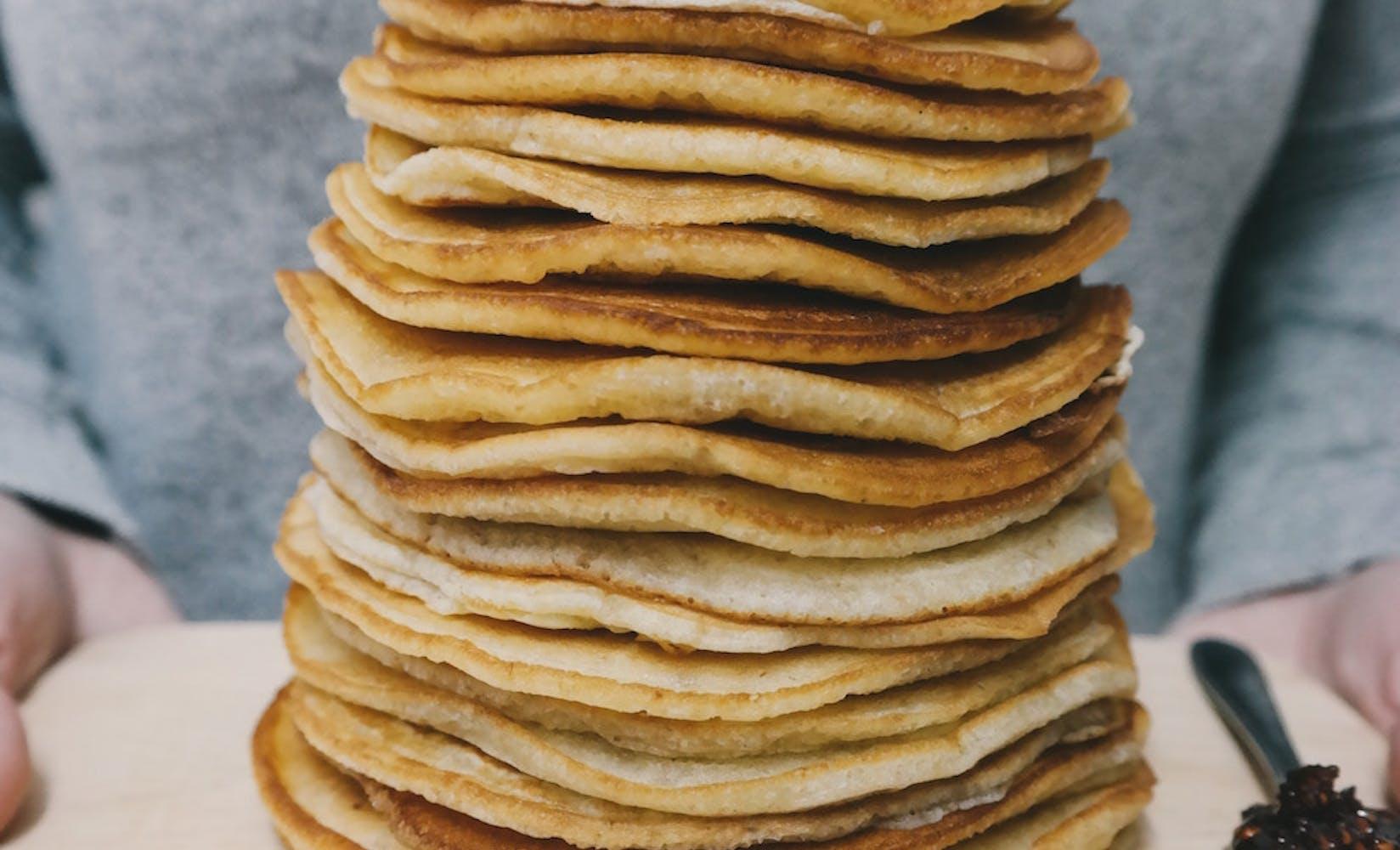 Pancake fundraiser flipgive