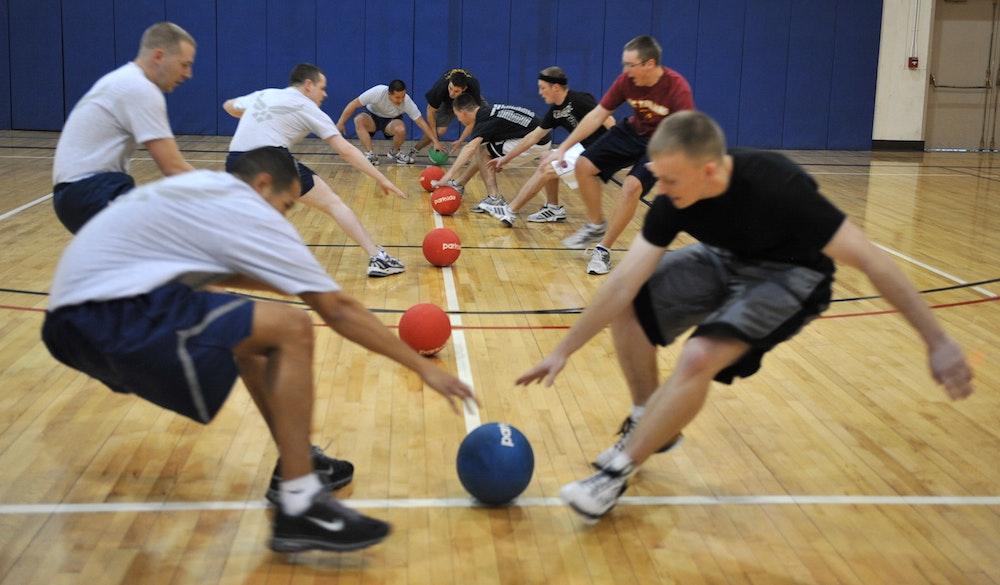 Dodgeball fundraiser flipgive