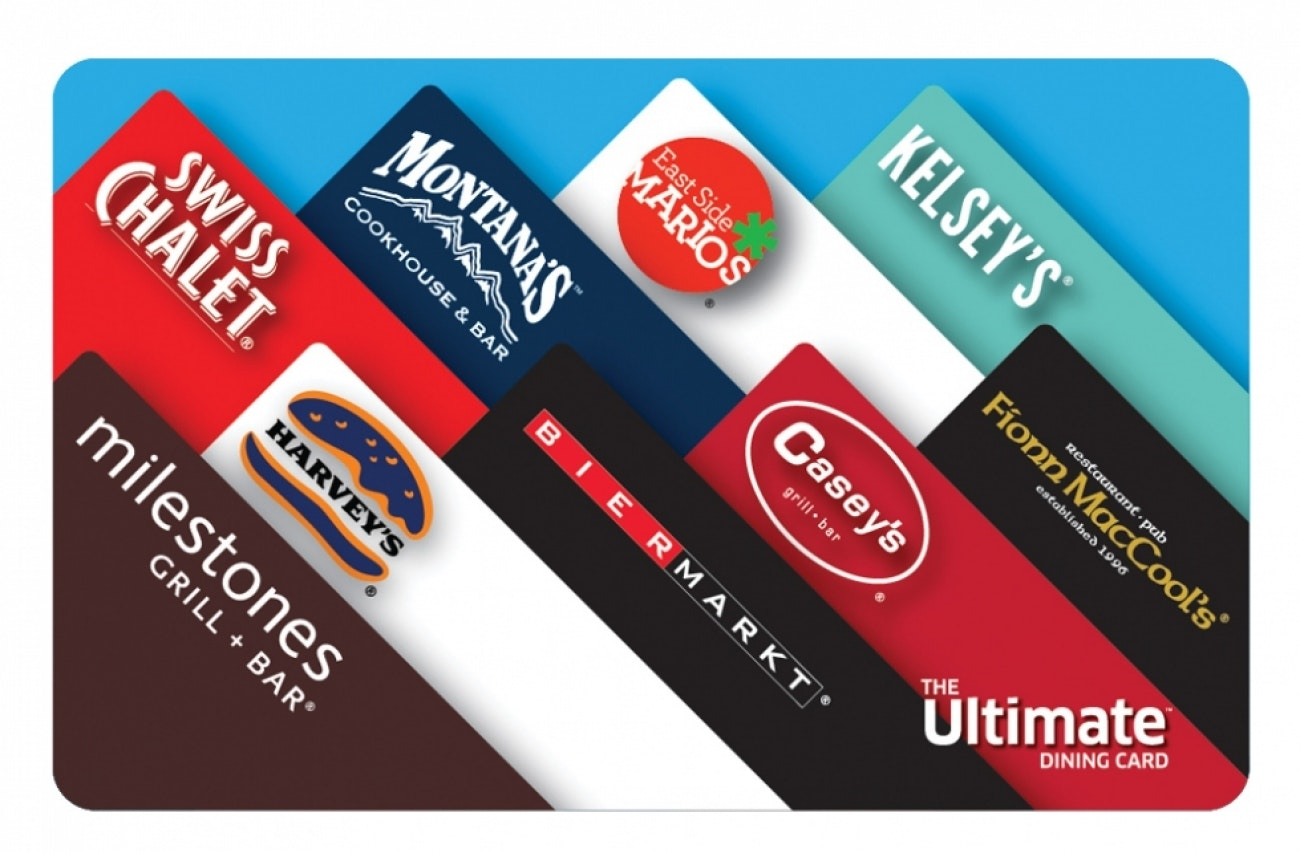 Ultimate dining card fundraiser flipgive
