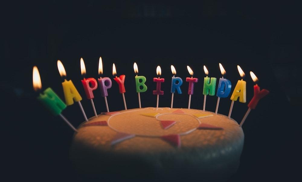 Birthday card fundraiser flipgive