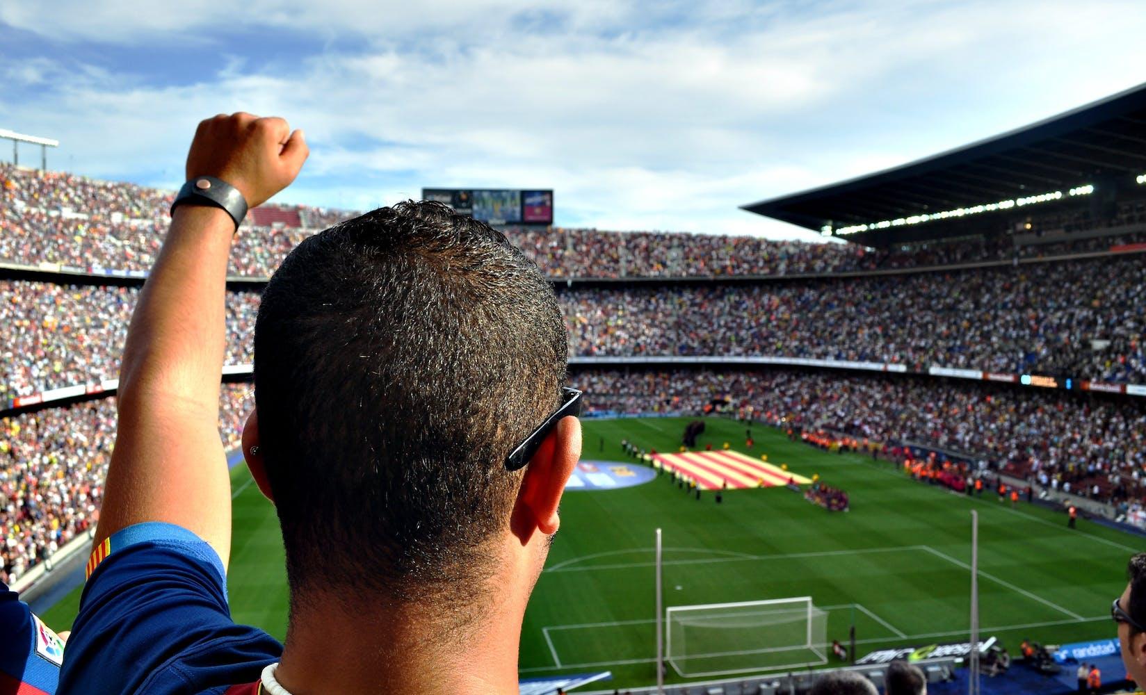 Man fan person football 54308