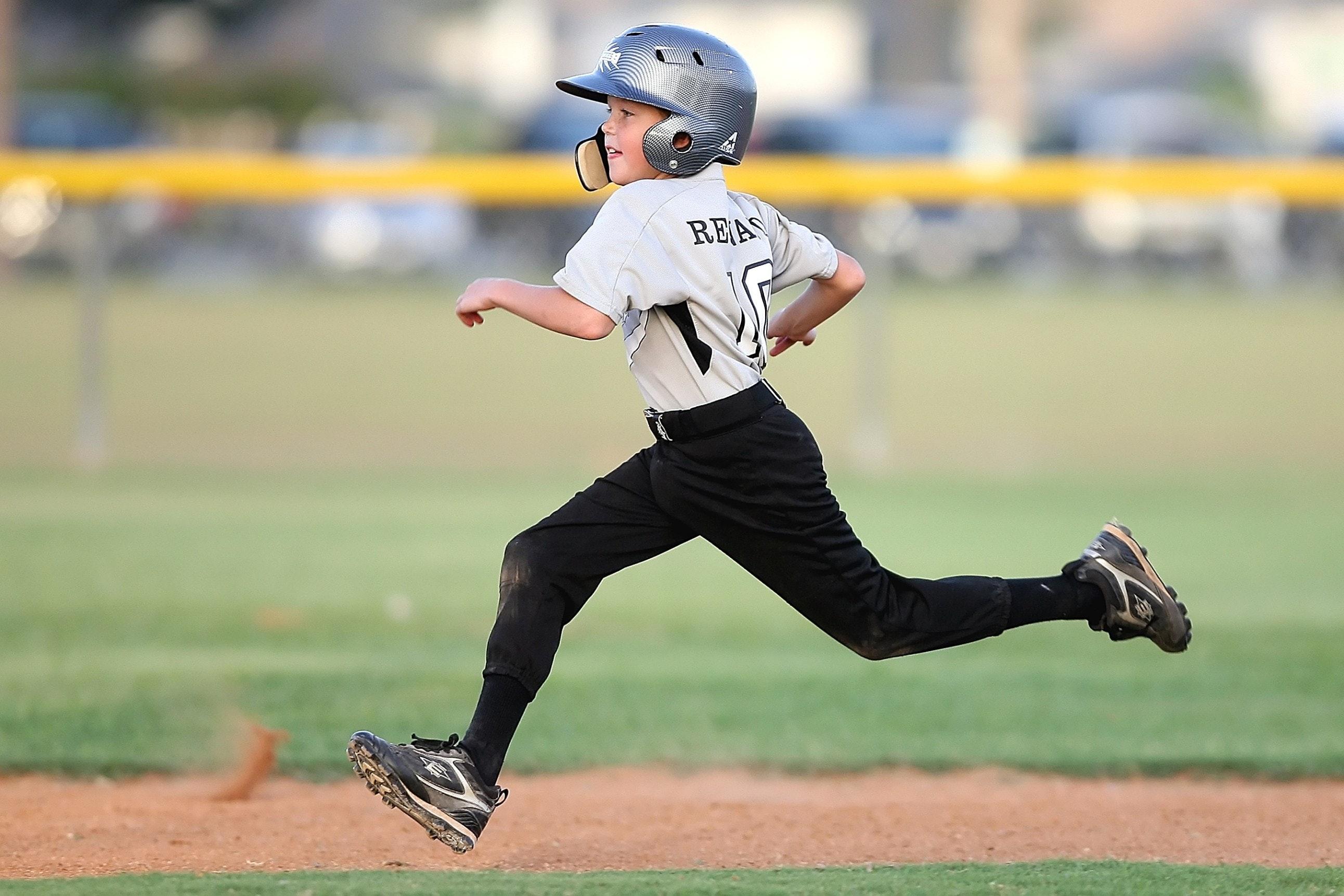 Baseball player running sport 163239