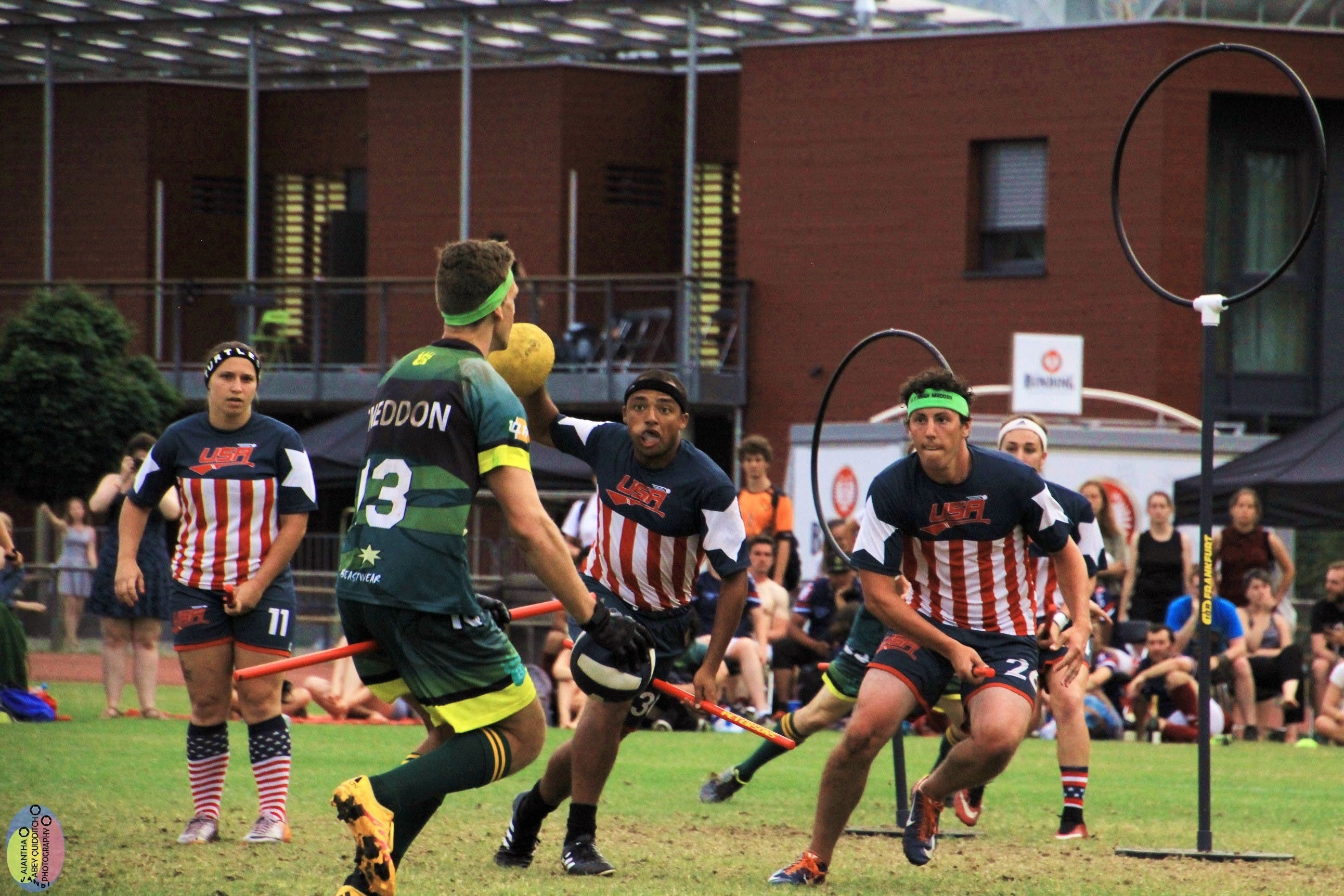 Meet the Wizards who play Quidditch