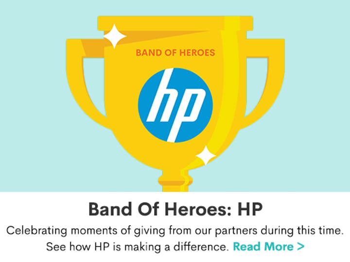 Band of Heroes: HP Provides Innovative Solutions And Technology To Support Local Communities Throughout COVID-19